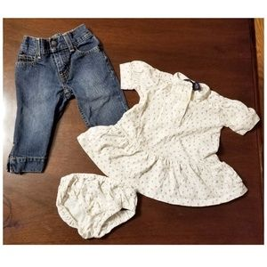 Ralph Lauren 12 Month Baby Clothes Jeans & Outfit